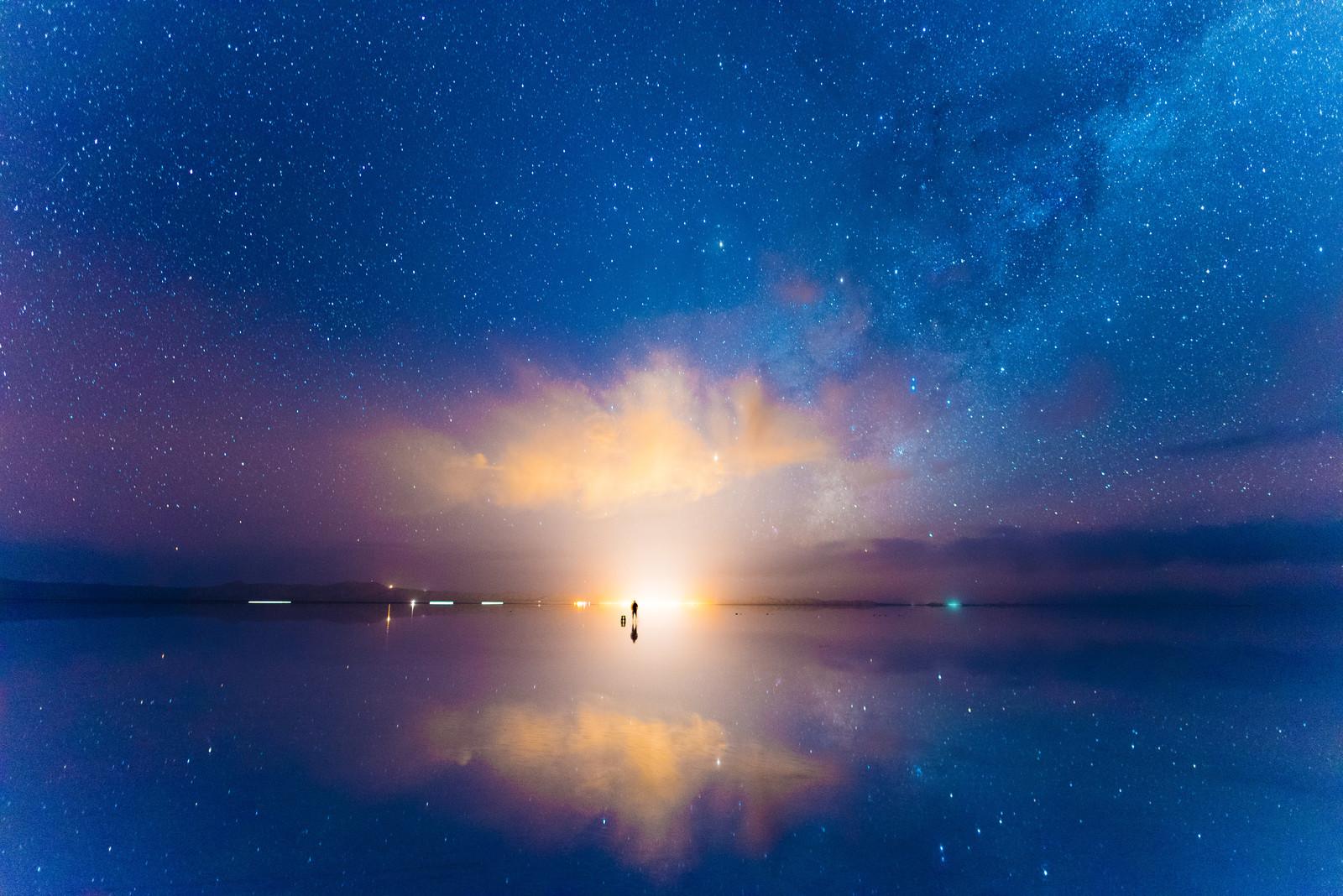 夜明けの画像
