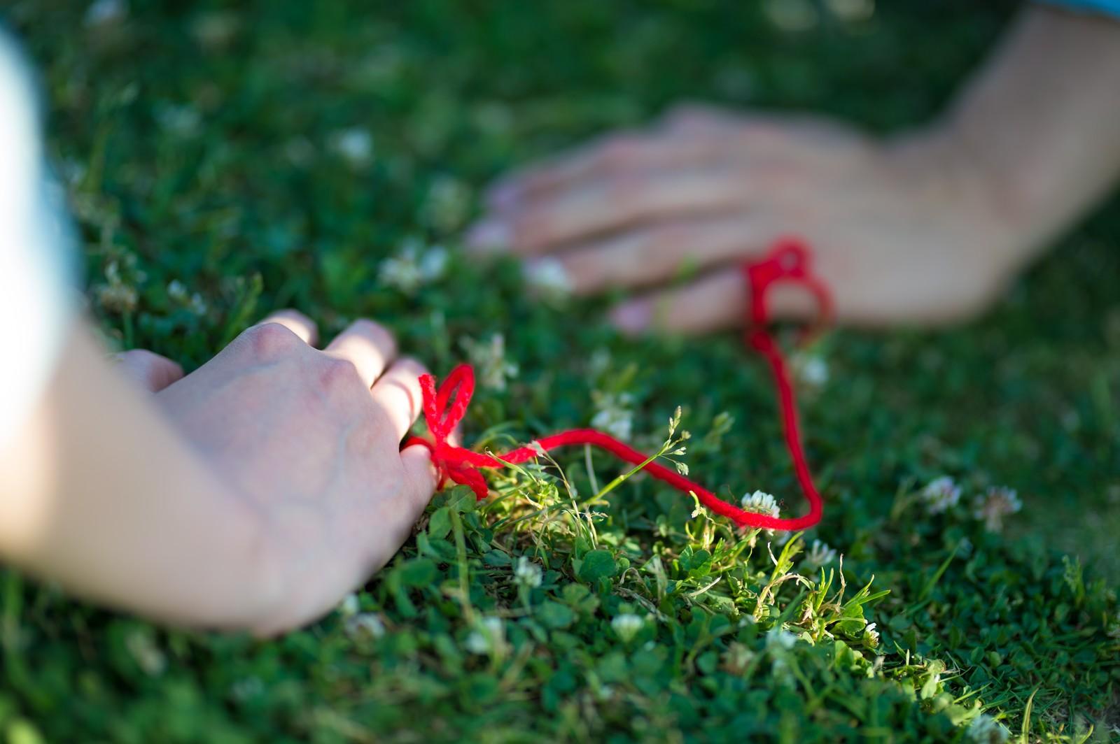 赤い糸のおまじない