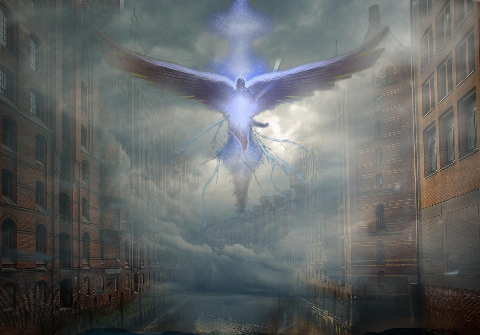 降臨した天使