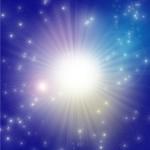大きな光の画像