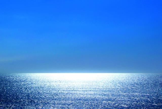 水平線の画像