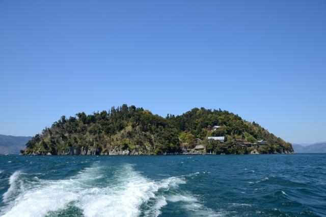 竹生島の画像