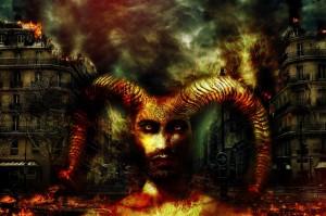 強大な悪魔の画像