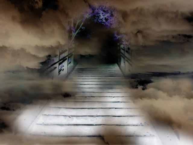 地獄へ続く道の画像