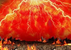赤い地獄の画像