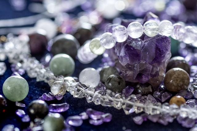 水晶の数珠