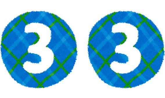 33の画像