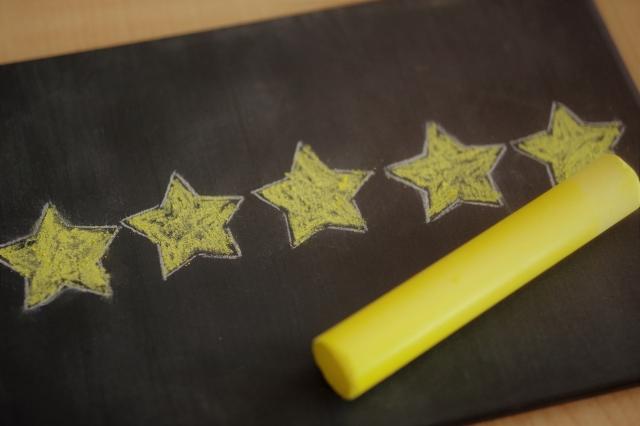 5つの星の画像