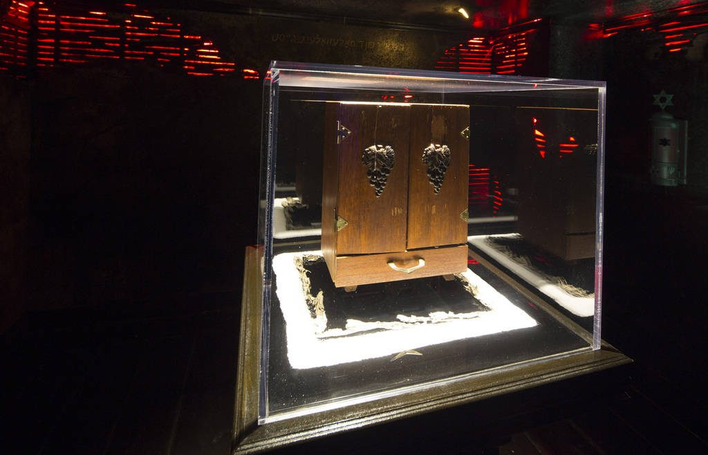 実際に展示されている「ディビュークの箱」
