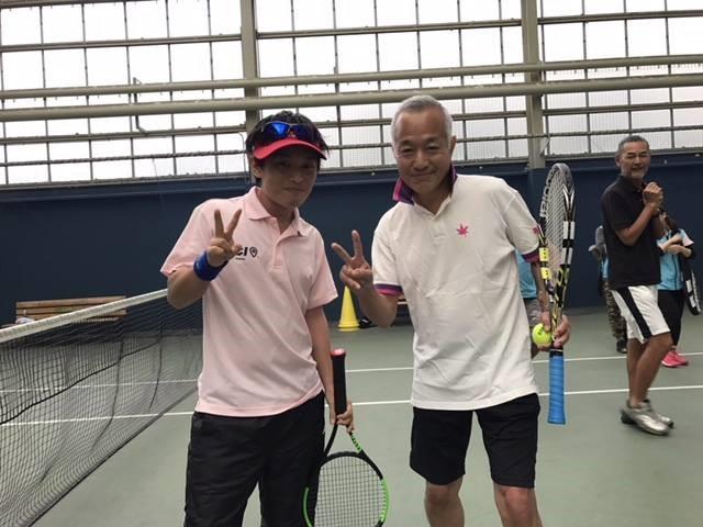 テニスに本気だったころの写真