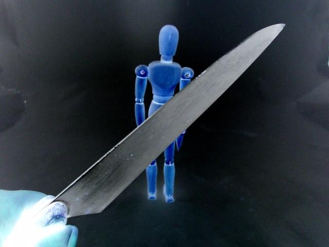 ナイフと人形