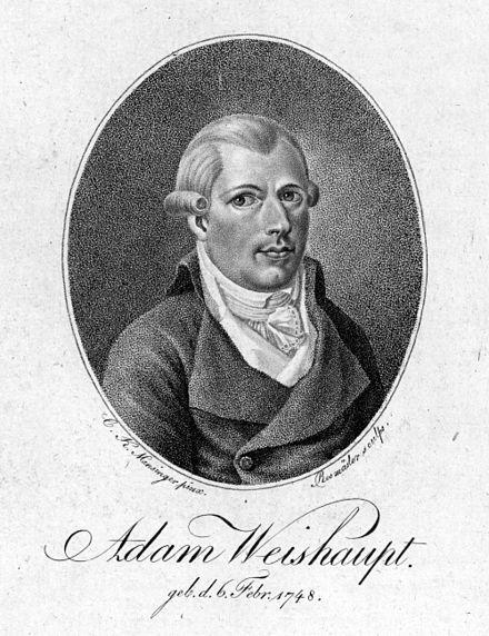 アダム・ヴァイスハウプト教授