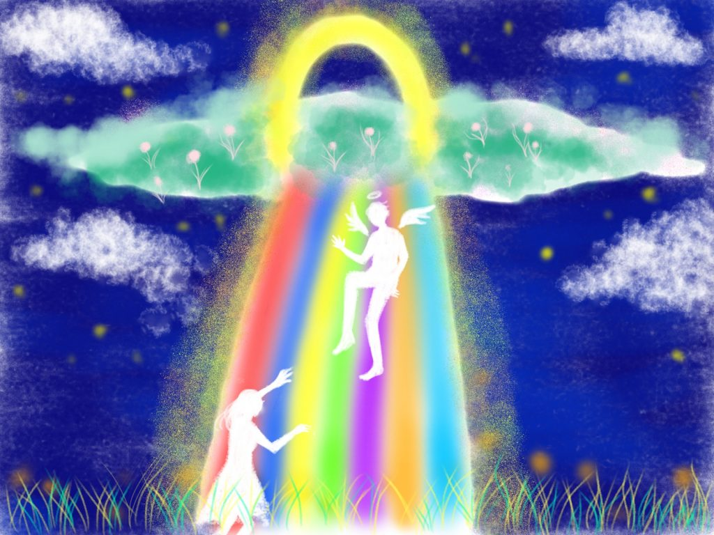 天国に繋がるイメージ