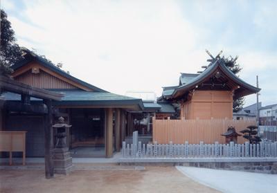 八剱神社の本殿