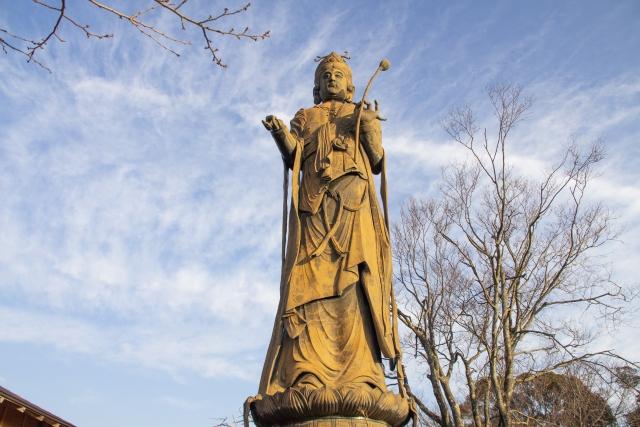 館山寺観音菩薩像