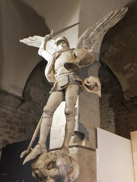 モンサンミッシェルの大天使