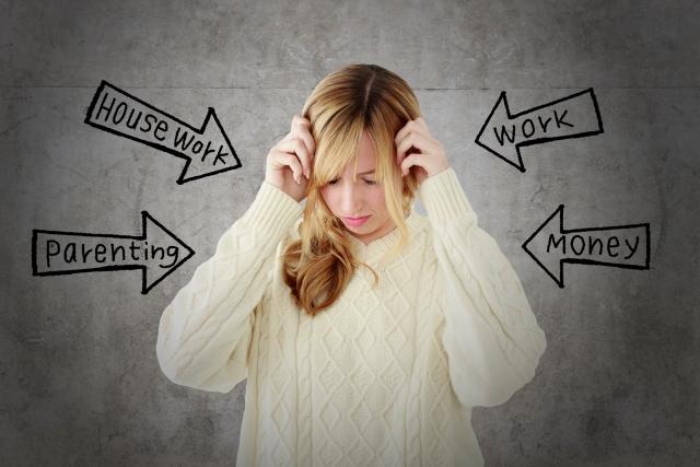 ストレスがたまってる女性