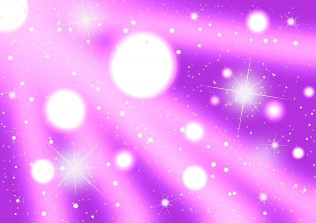 紫と白い光
